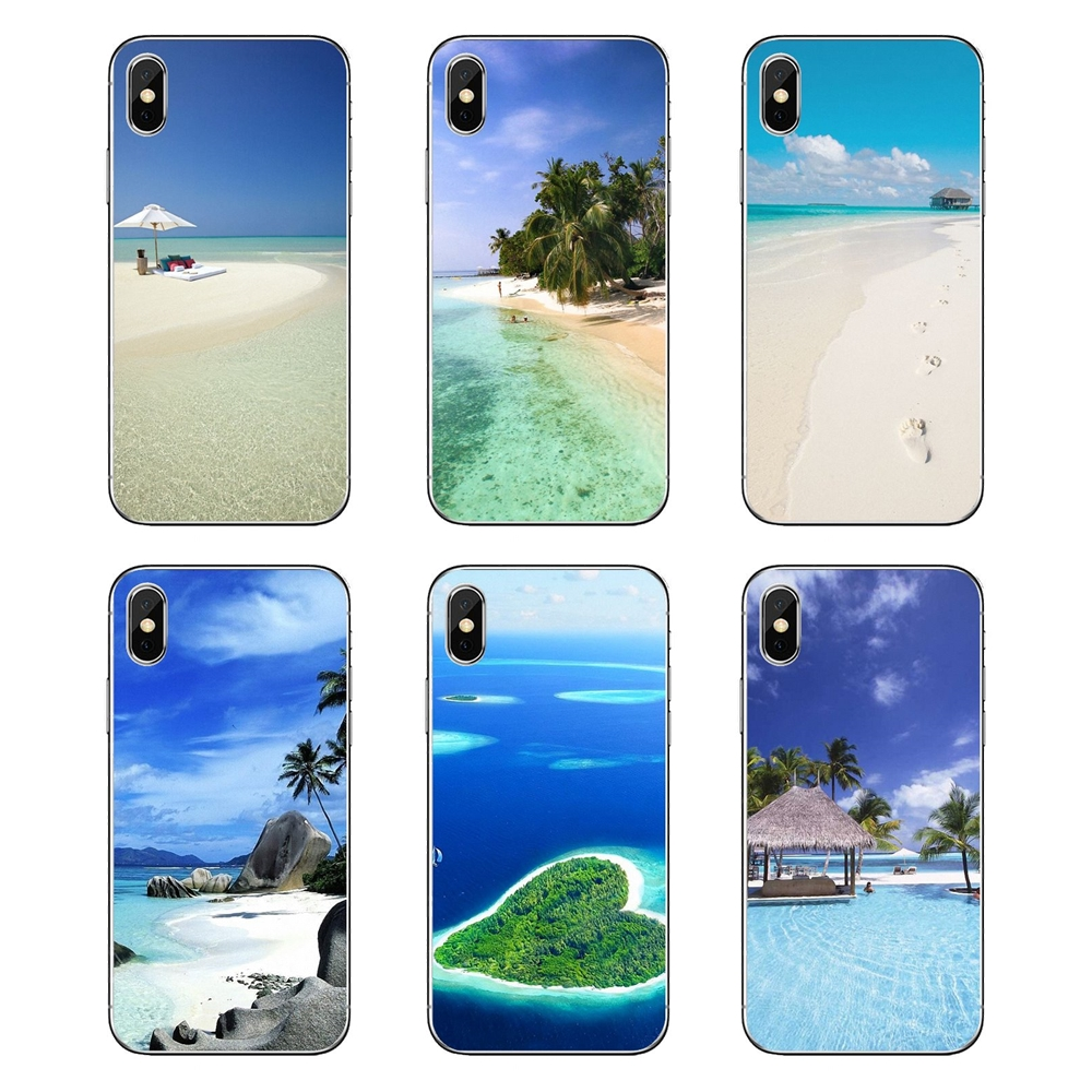 Maldives Islands beauty of beaches vacation spot For Samsung Galaxy A5 A6 A7 A8 A9 J4