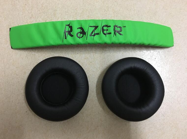 18a4c480665 1 conjunto Cabeça + almofadas de Ouvido Para Razer Kraken Pro   7.1  KKK. 1  pares almofadas Para Razer Electra