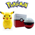 Portable Pokemon GO Bluetooth LED Light Speaker The Elves Ball speaker with Multicolor Lighting TF card play Hands free Micphone