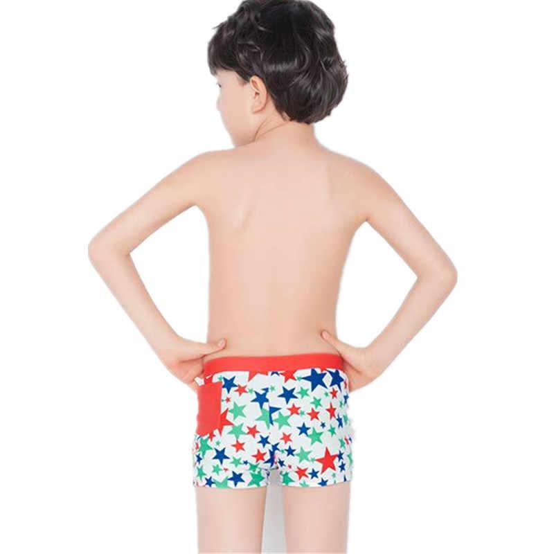 f07754e22438c ... Funfeliz Kids Swimwear 5-15 Yaers Boys swimming trunk Teenage boy  Bathing Suit Blue Red ...