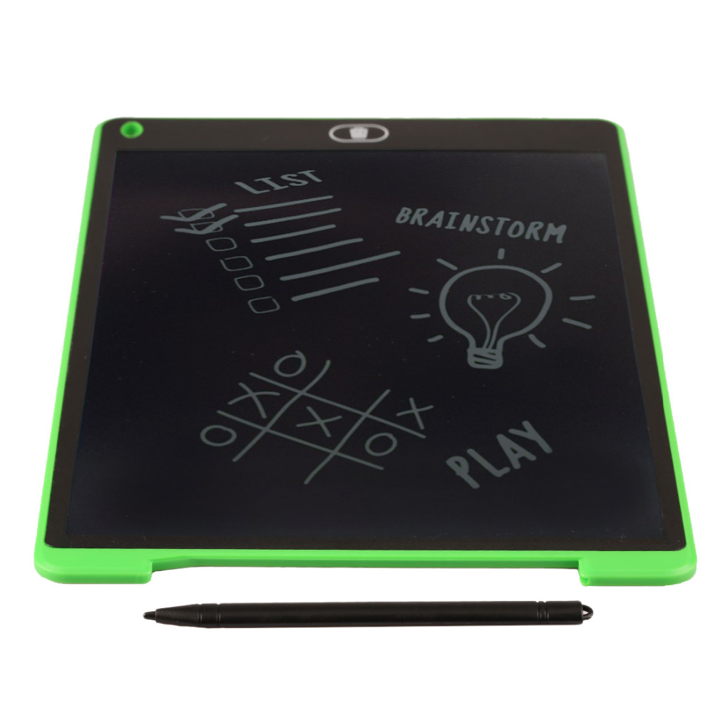 Portable Writing Board 8.5/12 Inch LCD Digital Drawing Handwriting Pads Gift ABS Electronic Tablet Board For Home Office Use цена и фото