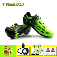 Tiebao sapatilha ciclismo Self Locking 2019 men women Pro Men's Cycling Shoes Road Bike Triathlon Shoes Bicycle Riding Sneakers