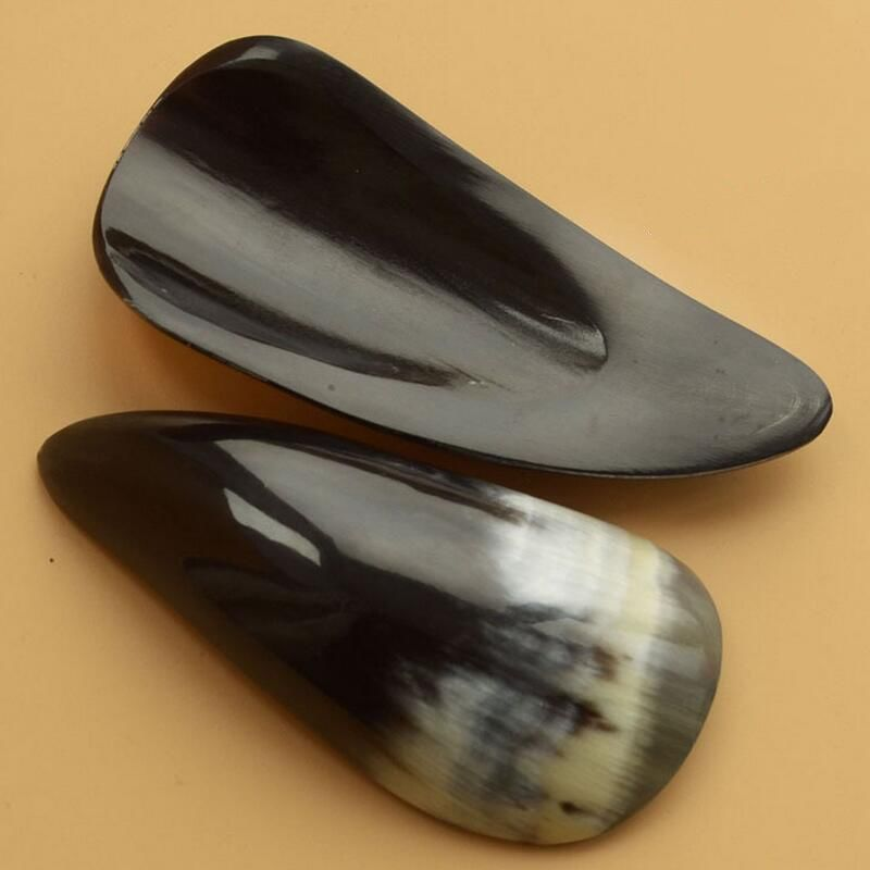 2pcs/lot Guasha Massage Scraping Tool Gua Sha Acupuncture Natural Buffalo Horn Random
