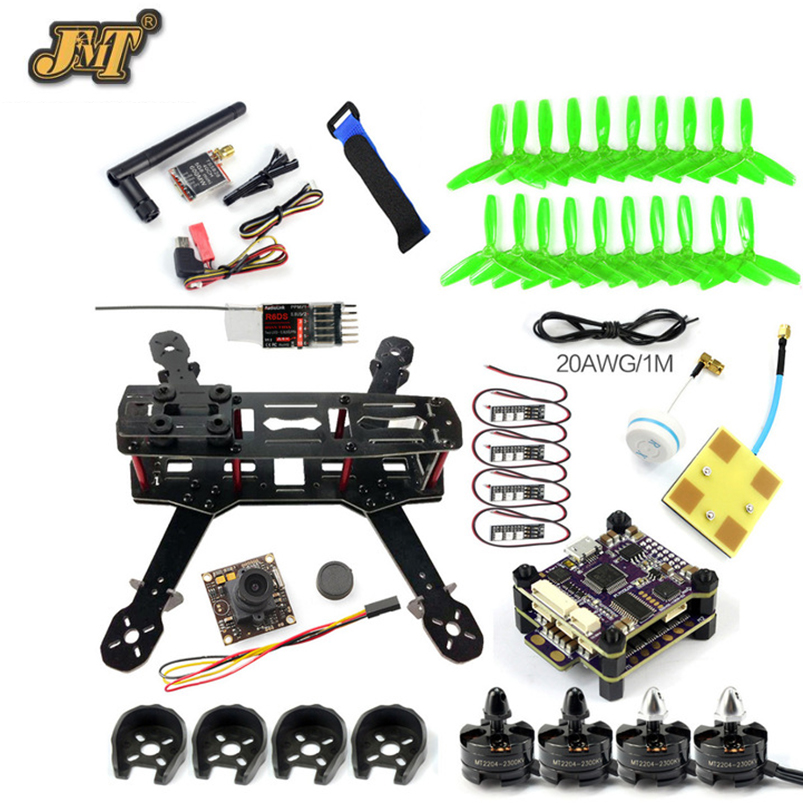JMT 250 PNP DIY FPV Racing Quadcopter Q250 Frame 2300KV Motor 5 inch Prop Raptor S-Tower 30A ESC 700TVL Camera Radiolink R6DS diy fpv drone racer 250 arf racing quadrocopter raptor s tower f3 fc built in 5 8g transmitter osd flysky fs i6 with hd camera