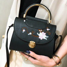 725d5643a48a HB INS Embroidered Bag Woman Tote Casual Bags Crossbody Leather Handbag  Shoulder Bag(China