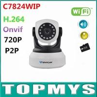4PCS VStarcam C7824WIP Wireless Wifi Ip Camera 720P HD CCTV Camera Mini Pan Tilt IR Night