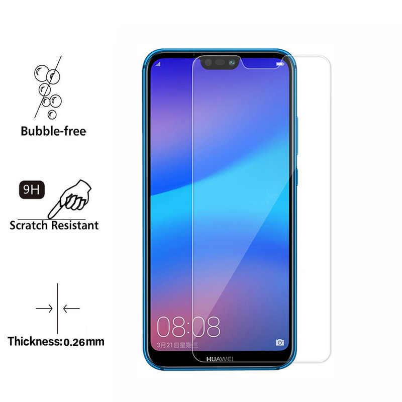 Huawei P20 Lite verre trempé pour Huawei P20 Lite protecteur d'écran 5.84 pouces verre de protection Transparent pour Huawei P20 Lite