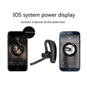 Image 4 - K10 Bluetooth Oortelefoon Draadloze Business Hoofdtelefoon Stereo Handsfree Ruisonderdrukking Bluetooth Headset Hd Mic Niet Tws Oordopjes