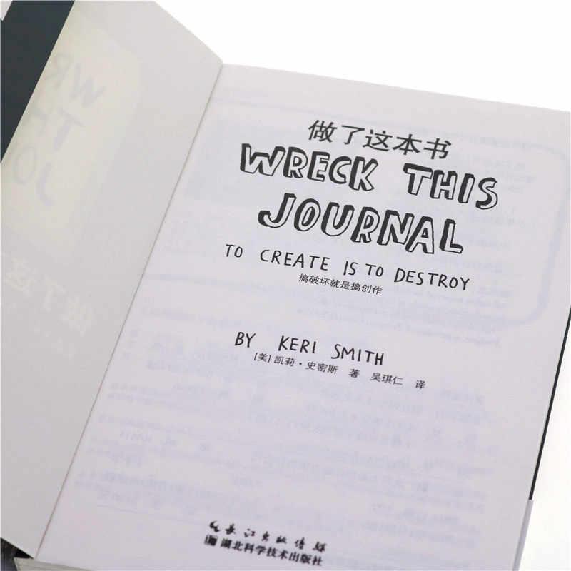 Kecelakaan Jurnal Ini Di Mana-Mana Oleh Keri Smith Kreatif Mewarnai Buku untuk Orang Dewasa Menghilangkan Stres Taman Rahasia Seni Buku Mewarnai