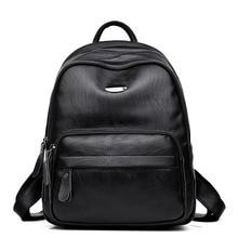 Дизайнер Высокое качество Женские Натуральная кожа рюкзак мешок основной школьные сумки рюкзаки для девочек-подростков овчины сумка Mochilas
