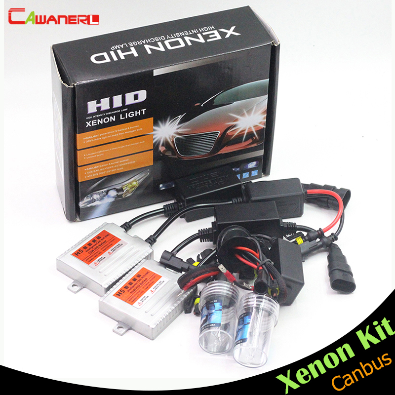 Cawanerl 55W Canbus HID Kit No Error AC Xenon Ballast Bulb 12000K Car Headlight Fog Light H1 H3 H7 H8 H9 H11 9005 9006 880 881 buildreamen2 9006 hb4 55w no error hid xenon kit 3000k 8000k ac ballast bulb canbus decoder anti flicker car headlight fog light