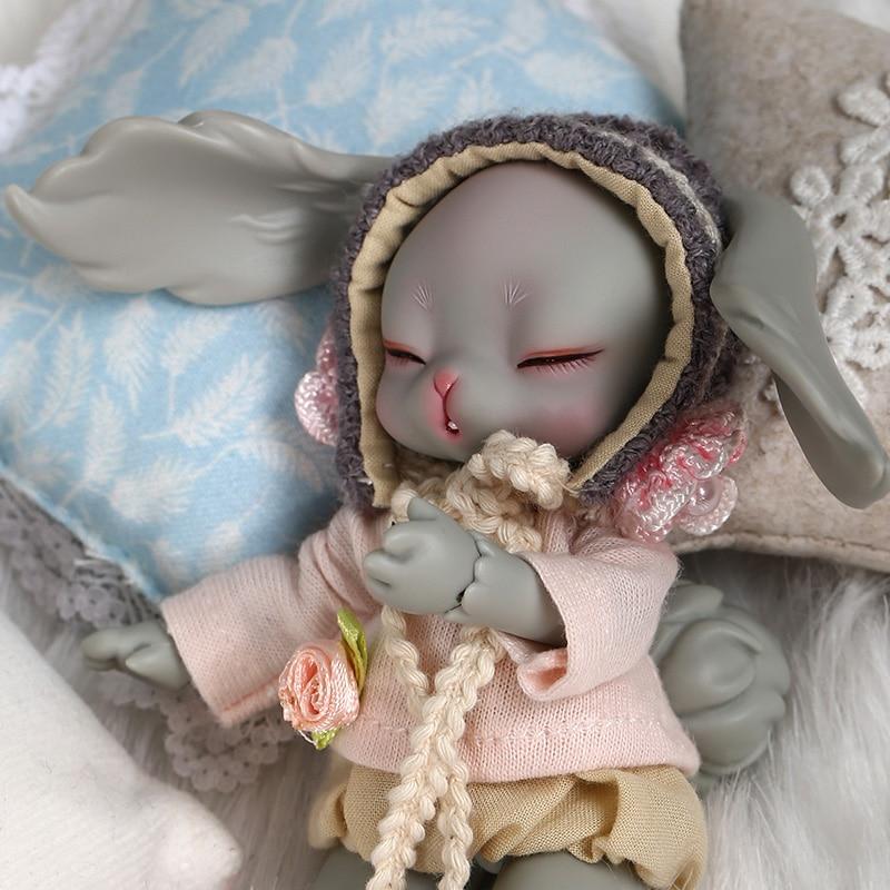 Dollsoom Leepy 1/8 Bjd YOSD ตุ๊กตากระต่ายรุ่นเด็กทารกคุณภาพสูงของเล่นวันเกิด Xmas แฟชั่นตุ๊กตา 1/3 BJD-ใน ตุ๊กตา จาก ของเล่นและงานอดิเรก บน   1