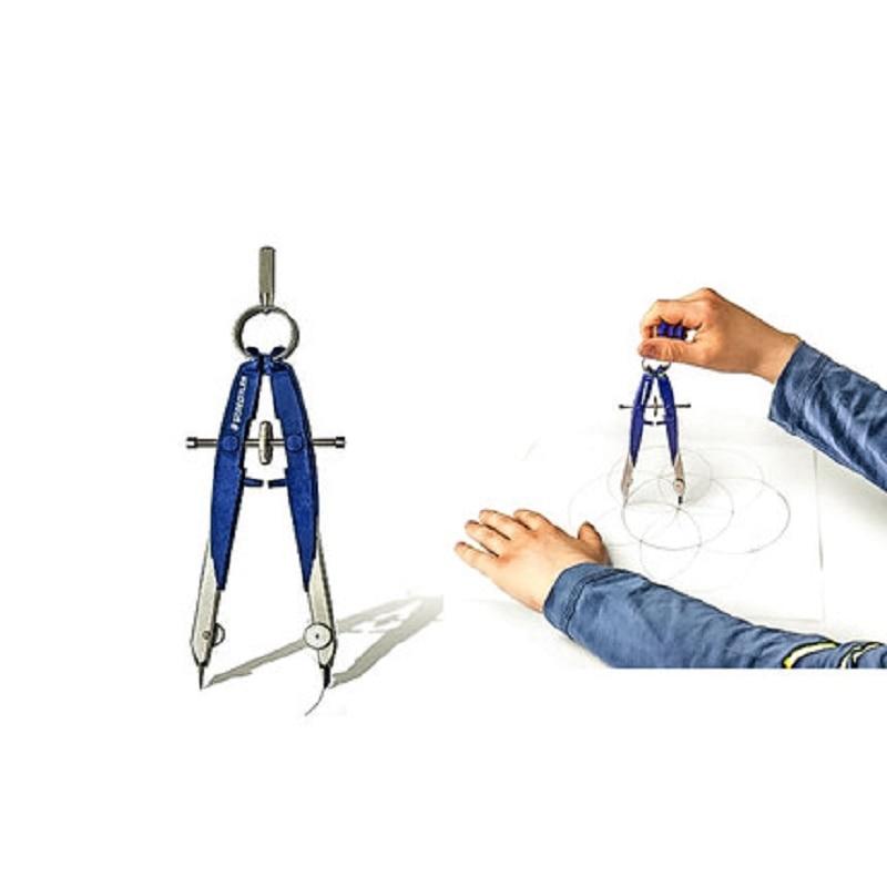Compas de conception STAEDTLER 556 00 compas de dessin d'ingénierie Compasse 1 pcs/lot