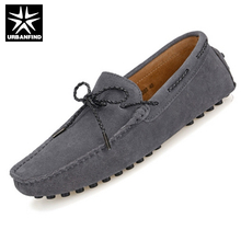 Spring & Autumn Man Moccasin gommino Stitching Style EU 38 44 Solid Color Adults Fashion Loafers Men Driving Doug Shoes