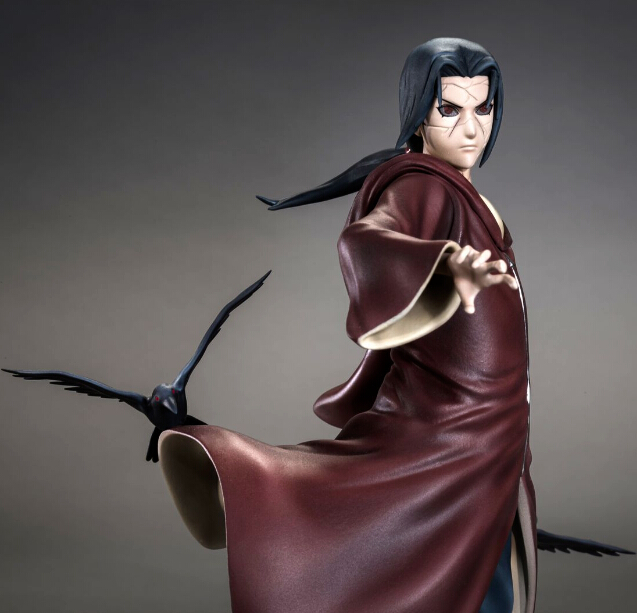NEW hot 17cm naruto Uchiha Itachi rise again Action figure toys collection doll Christmas gift with box new hot 18cm naruto hyuga hinata hinata hyuga combat version action figure toys collection christmas gift doll