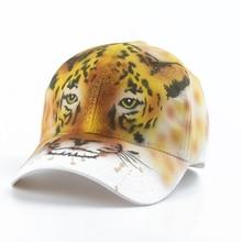 Leopard Animal Baseball Cap Women Cotton Hats Girls Summer Visor Fashion Streetwear Hip Hop Snapback Hat