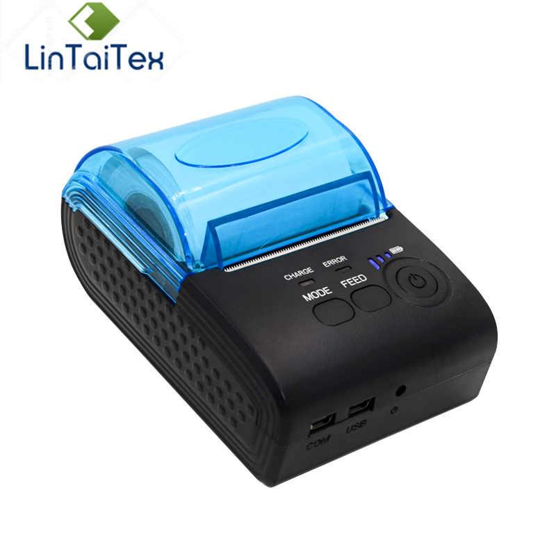 Original Zjiang ZJ-5805 58mm inalámbrico portátil mini usb portátil impresora térmica garantizar la calidad
