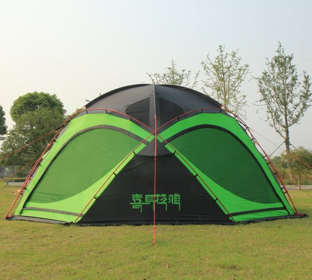 Cheap HIMALAYA Camping Family Tent Multiplayer Aluminum Pole Waterproof Ripstop Outdoor Traveling by car for Camping & Hiking Trekking