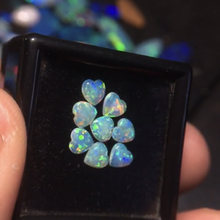Opal Gemstone 4mm 8pcs Natural Opal Gemstones 525 Australia Origin Loose Stones Loose Gems Gemstones For Jewelry Making(China)