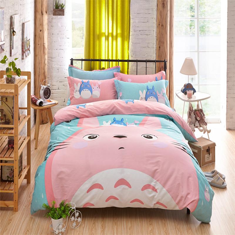 illucity gato grande de moda ropa de cama conjunto funda nrdica reina doble