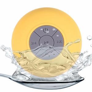 Мини беспроводной Bluetooth динамик с всасывающей рукой бесплатно Водонепроницаемый Ванная комната автомобиль офис пляж стерео сабвуфер музык...