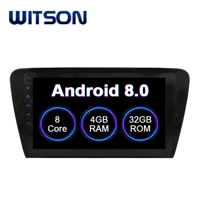 "WITSON Android 8.0 10.2"" CAR DVD PLAYER For VOLKSWAGEN SKODA OCTAVIA 2014 CAR STEREO CAR AUDIO PLAYER GPS NAVIGATION SYSTEM"