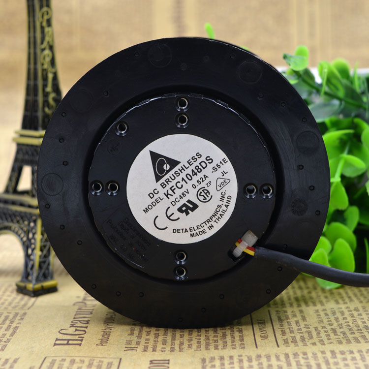 New Original KFC1048DS 48V 0.52A 10 cm 4 wire PWM centrifugal disc fan free shipping new and original for delta ahb1748ghg 48v 1 82a 4 wire pwm cooling fan