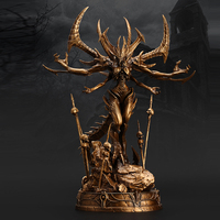 OGRM Game Cosplay Accessory Bronze Statue For Home Decoration Small Statuette Collectible Action Figure Model Toys Gifts For Men