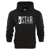 2018 Autumn Brand Hoodies Superman Series Men Hoody STAR S T A R Labs Jumper The
