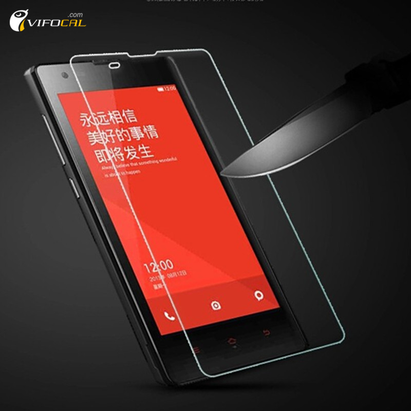 For Xiaomi Redmi tempered glass 9H 2.5D High Quality Screen Protector Film Accessory For Hongmi 1S Cell Phone