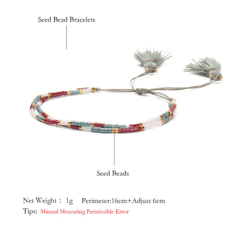 d177ba8d54508 Shinus MIYUKI Bracelets Boho Bracelet Women Beautiful Pulseras ...