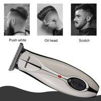 Professional electric hair trimmer beard car hair clipper for men trimer hair cutting machine haircut head trim facial Edge
