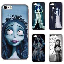 Soft TPU Cell Case Tim Burton Corpse Bride For HTC 530 626 628 630 816 820 One A9 M7 M8 M9 M10 E9 Plus U11 Moto G G2 G3 G4 G5(China)