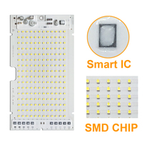 30pcs/lot LED SMD LAMP 10W 20W 30W 50W 100W Light chip AC220V/110V Input Directly Smart IC Fit for DIY outdoor floodlight