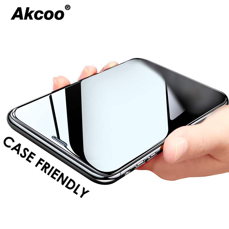 Akcoo Anti Explosion 3 Times Strengthen Tempered Glass For IPhone 6s 7 8 Plus XR XS Max  Glass For Iphone 11 Pro Max Glass Film