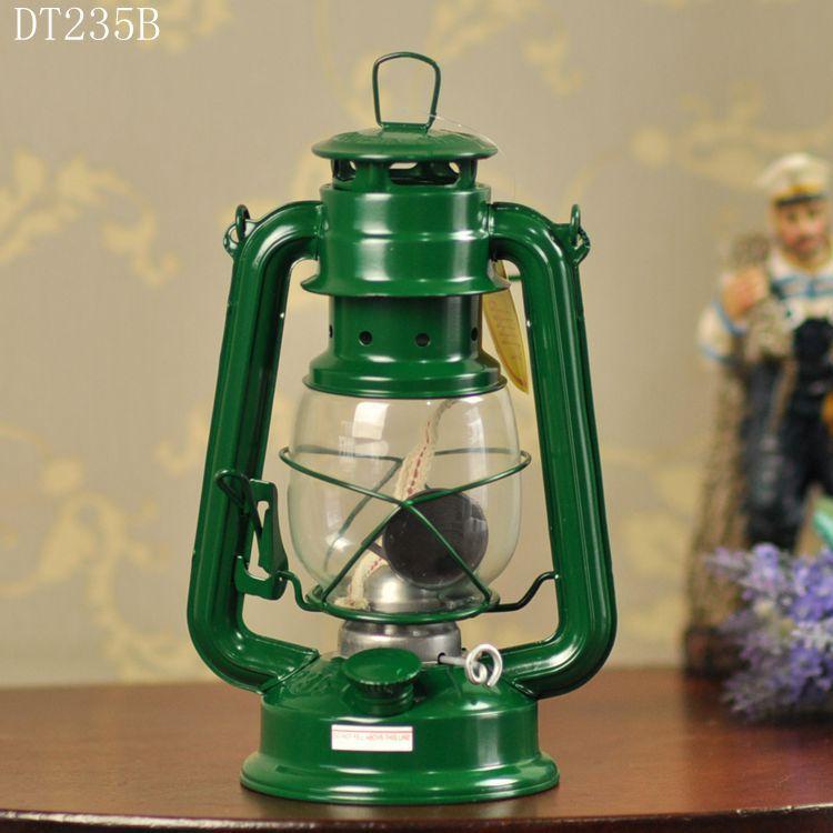 1 հատ հատ Zakka Iron Candlestick Մոմակալ Քերոսին - Տնային դեկոր - Լուսանկար 3