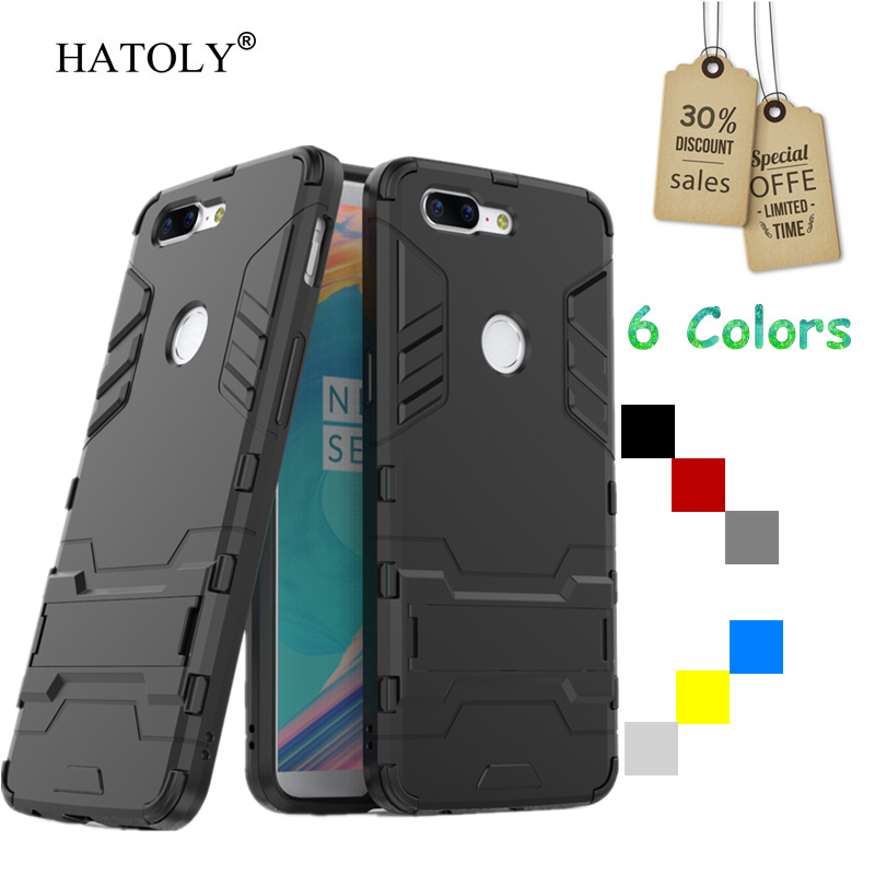 HATOLY Cover <font><b>Oneplus</b></font> 5T <font><b>Case</b></font> Rubber Robot Armor Phone Shell Slim Hard Back Phone <font><b>Case</b></font> for <font><b>Oneplus</b></font> 5T Cover for <font><b>Oneplus</b></font> 5T <font><b>A5010</b></font> image