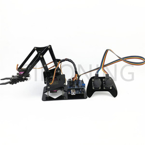 Image 2 - 4DOF manipulator arduino Robotic arm remote control ps2 mg90s SNAM1900
