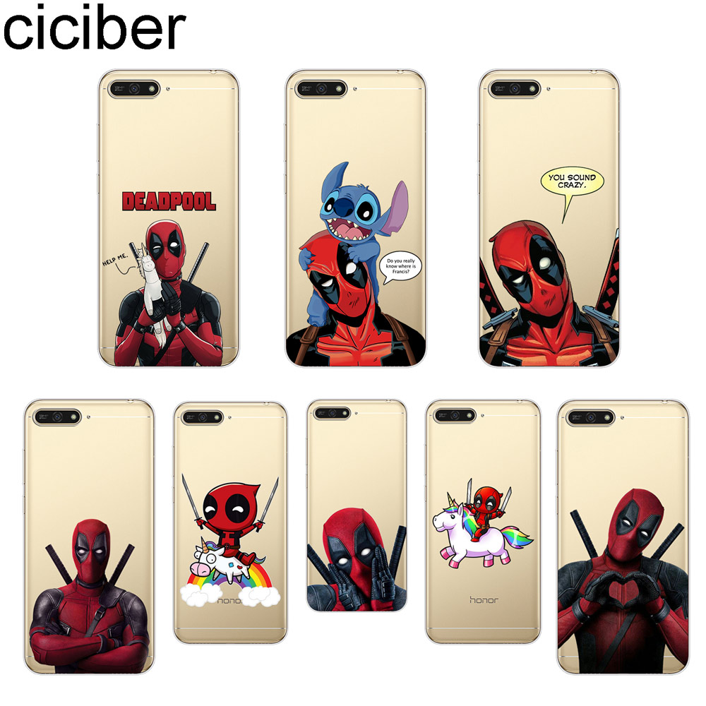 Good quality and cheap huawei y6 prime 2018 case marvel in