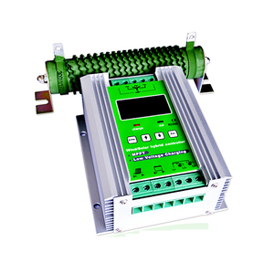 1200W 50A MPPT wind generator charge controller 12v 24v with free dumpload resistor MPPT wind solar hybrid charger(China)