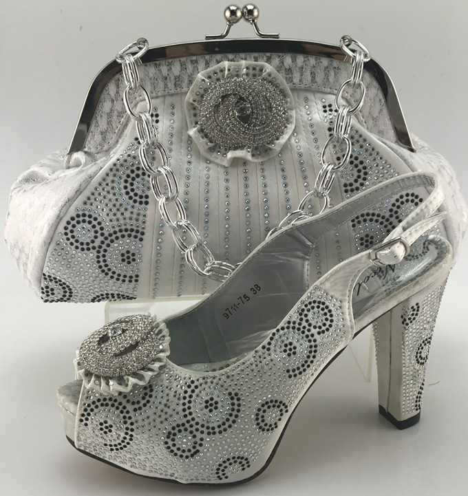 high fashion wedding Shoes and Bag purse with shoes for party high tech and fashion electric product shell plastic mold