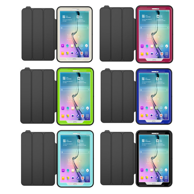7780c3057159 Heavy Duty Shockproof Smart Back Cover Full Body Protective Case For Samsung  Galaxy Tab A 10.1 SM-T580 Scrape Resistance