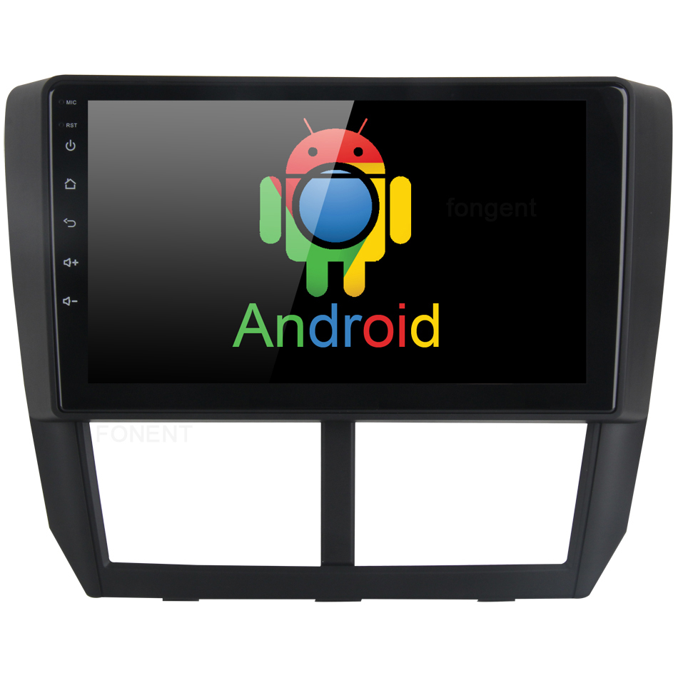 9 Android 8.0 Autoradio pour Subaru Forester Navigation 2008 2009 2010 2011 2012 Voiture Radio Vidéo lecteur Multimédia GPS Navi Carte