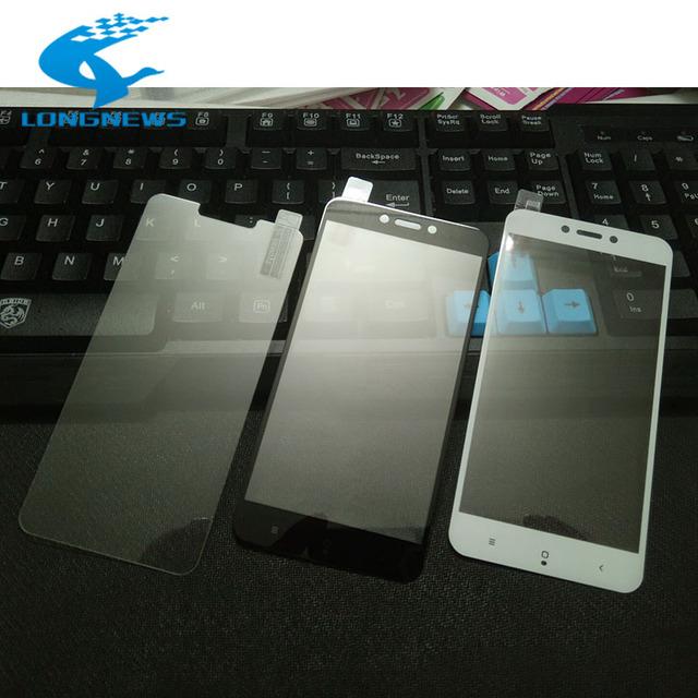 Newest High quality 9H HD for Xiaomi Redmi 3 3s Tempered Glass Redmi Note 2 3 4 pro redmi 4 x Mi5 Phone Screen Protector Film