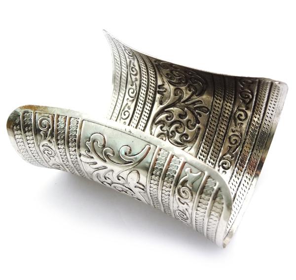 Royal Egyptian Style Carved Bracelet