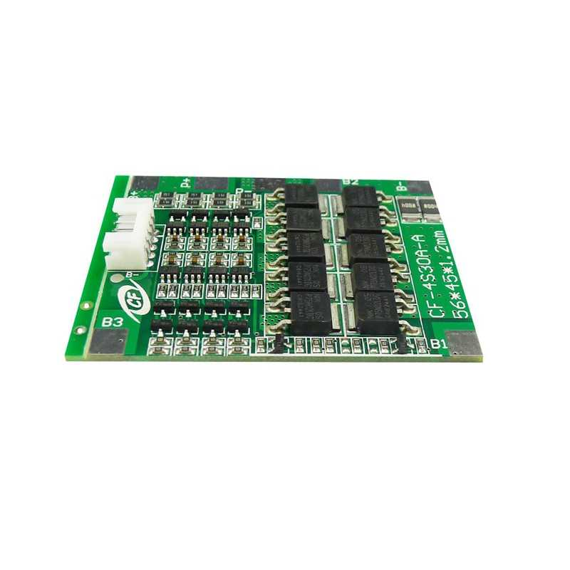 4S 30A 12V 18650 Lithium Iron Phosphate Lifepo/Life Battery Bms Packs Pcb Power Protection Board For Scooter Ebike