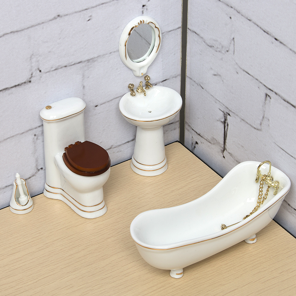 Online kopen Wholesale moderne poppenhuis meubels uit China ...
