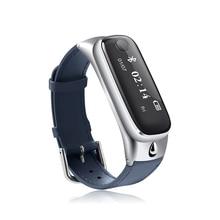 2016 ttlife m6 smart watchกีฬาสร้อยข้อมือสมาร์ทวงบลูทูธ4.0หูฟังนอนการตรวจสอบติดตามการออกกำลังกายสำหรับios a ndroid p hone