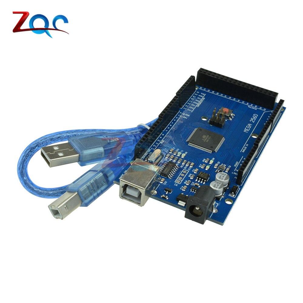 Mega 2560 Conseil R3 2012 Offciel Version avec ATMega 2560 ATMega16U2 pour Arduino Intégré Pilote