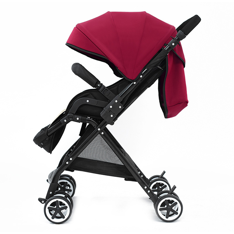 2017 New Hot High Landscape Baby Stroller Super Lightweight Portable Infant Trolleys Folding Easy Carry Can Sit & Lie Baby Prams